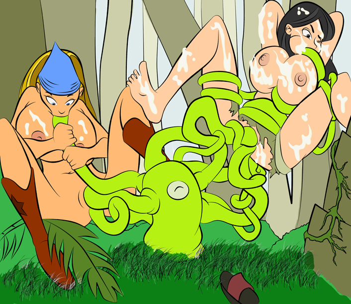jo total and drama brick Johnny test susan and mary naked