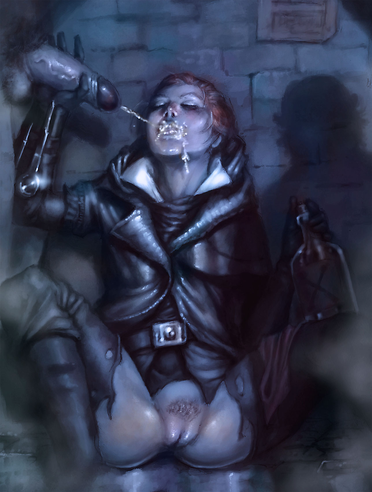 assassin's creed syndicate Harley quinn poison ivy porn