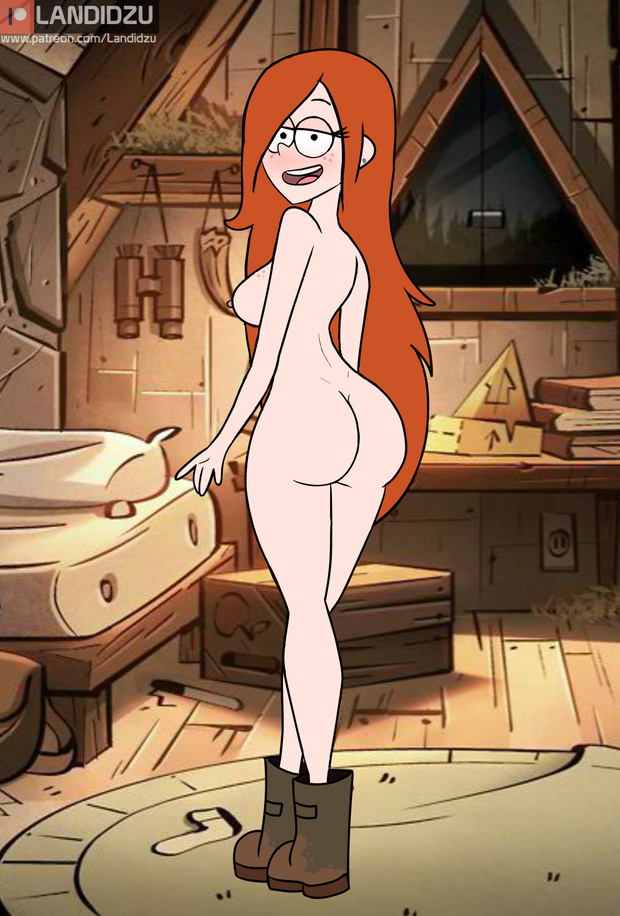 gravity naked wendy from falls Merlin seven deadly sins
