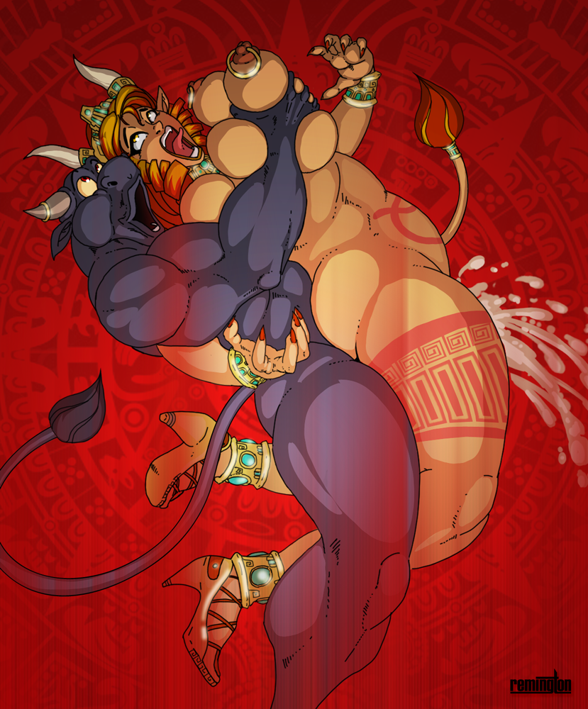 of minotaur corruption champions king Rule 63 one punch man