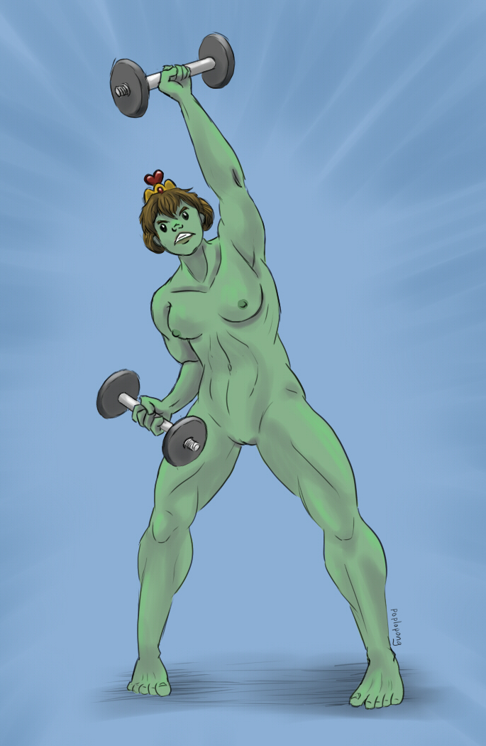 adventure naked fiona from time Five nights at freddy's my little pony