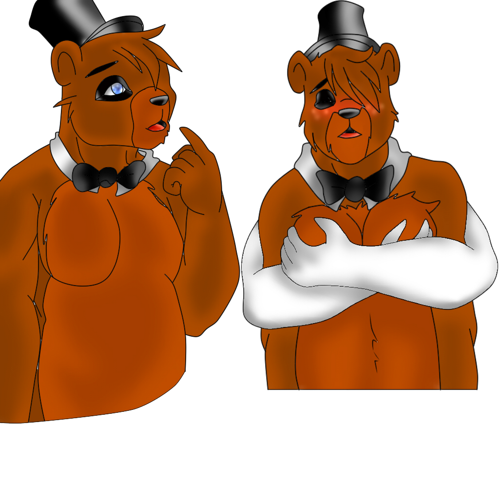 freddy's characters at five pictures nights of Tails the fox