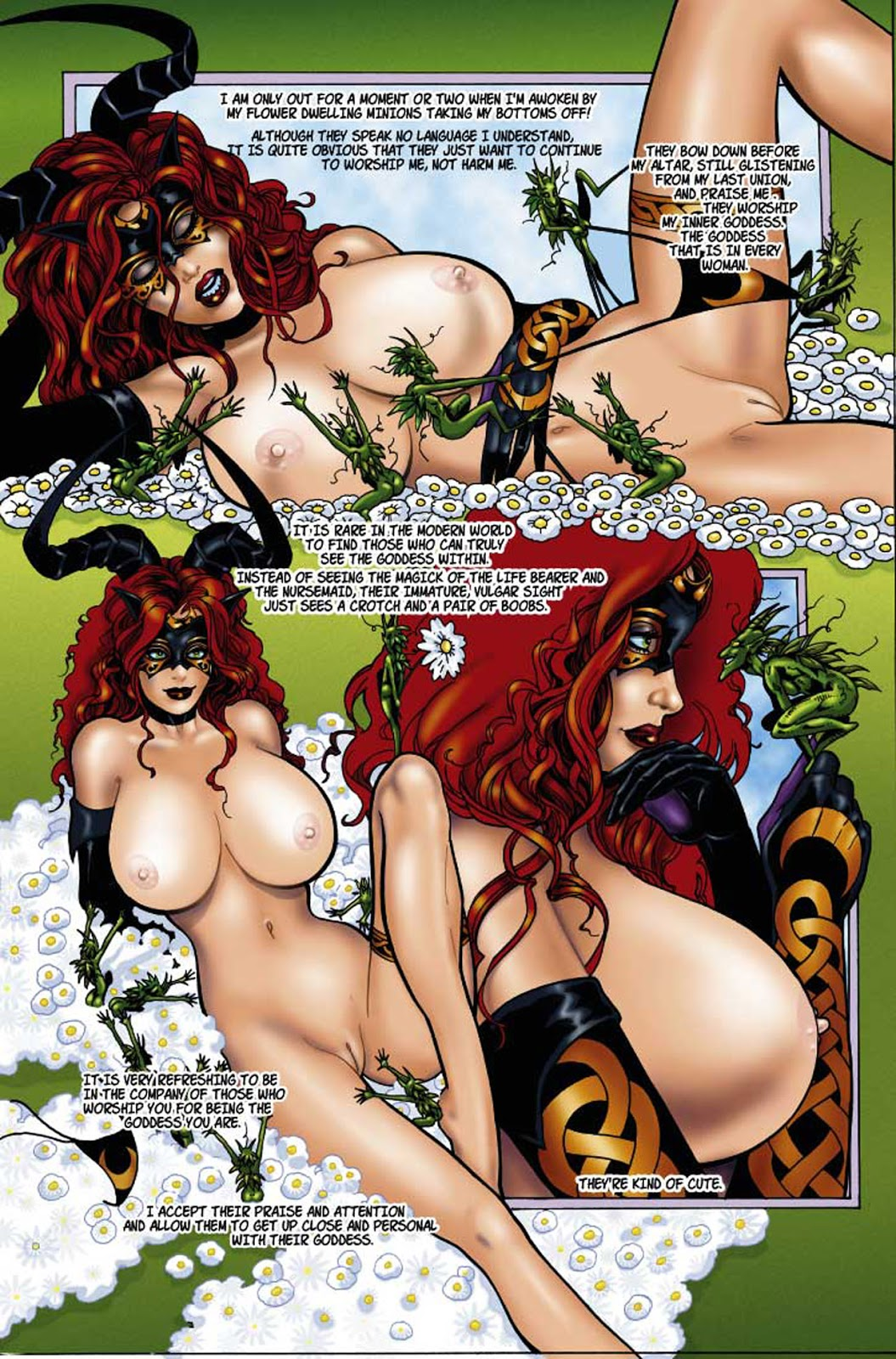 witch rose black tarot nudity of the The amazing world of gumball anais naked