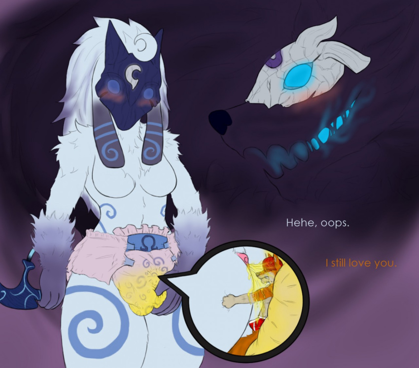 and lamb legends league wolf of Anime princess with white hair