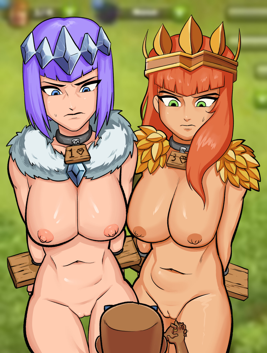 of clans archer clash naked Who is this semen demon