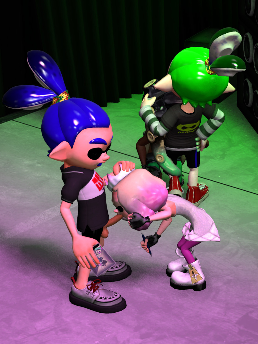 is from splatoon pearl how old Panty and stocking with garter belt