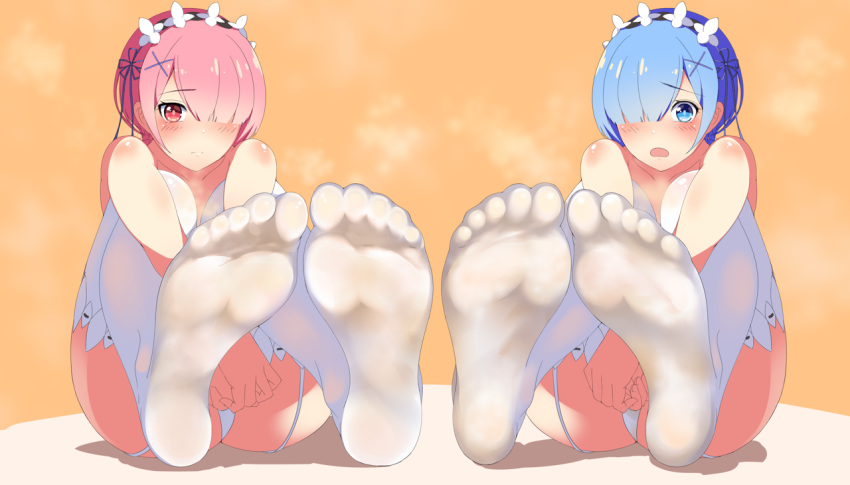 re ram and zero rem Undertale sans and papyrus and frisk