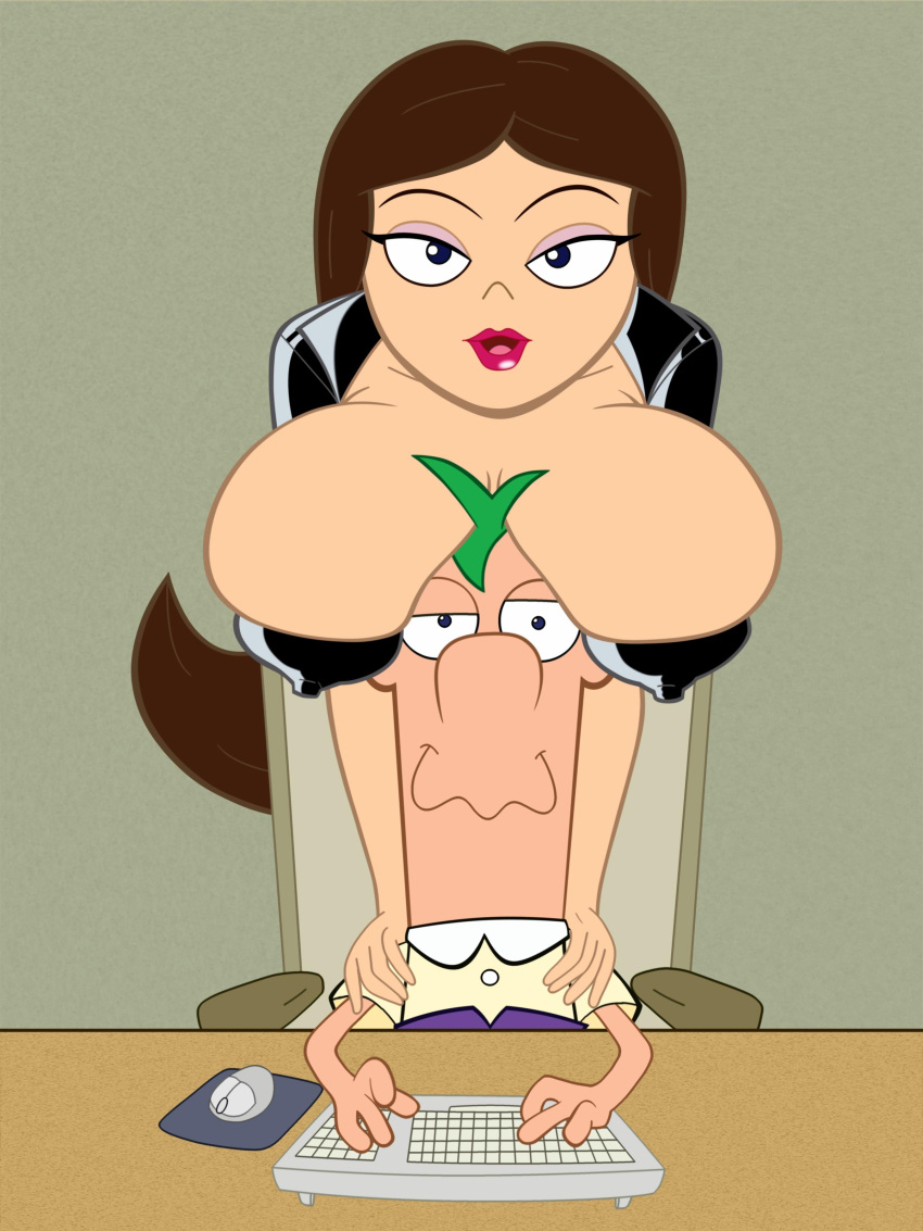 phineas vanessa ferb and xxx Panty and stocking with garterbelt brief