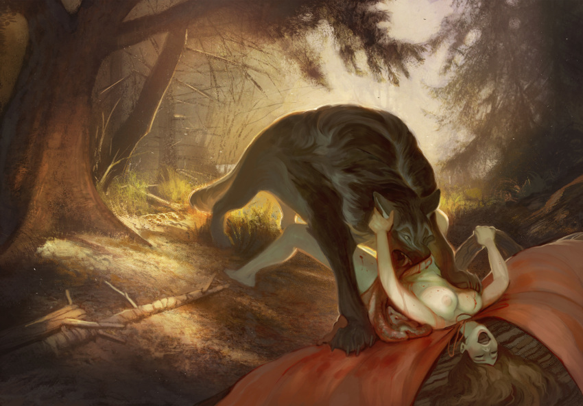 xxx red riding little hood Pokemon x and y